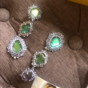 Kendra Scott aria clip on earrings